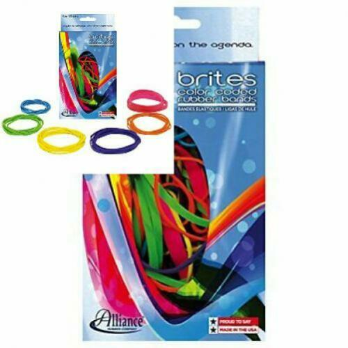 Blue//Orange//Yellow//Lime//Purple//Pink Alliance Rubber 07706 Assorted Sizes