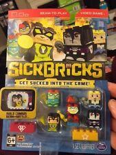 Sick Bricks Sick Team 5 Character Pack Heroes Vs Hollywood  New!!!