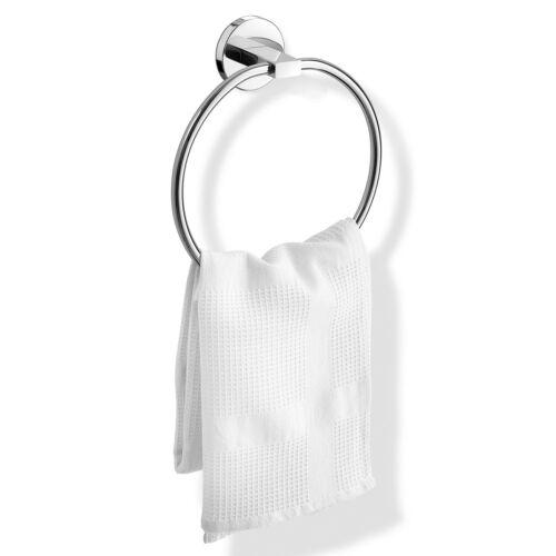 ZACK Handtuchring schwenkbar SCALA ohne Bohren 40096 Edelstahl