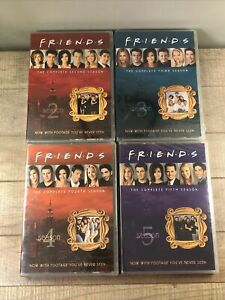 FRIENDS-SEASONS-2-3-4-5-DVD-Set-All-New-amp-Sealed
