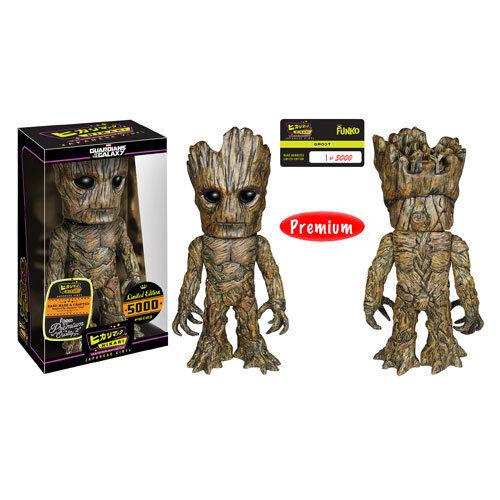 Guardians of the Galaxy Groot Hikari Sofubi Vinyl cifra Ready to Ship