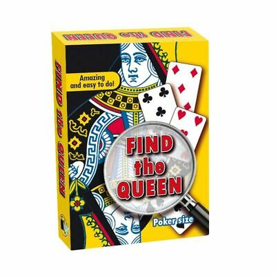 Find The Queen Card Trick Bicycle Back Easy Magic Card Tricks Easy To Perform Ebay