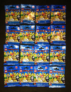 LEGO-8684-Series-2-Complete-Set-16-Minifigures-Collectable-Spartan-Pharaoh-NEW