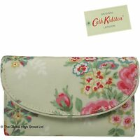 Cath Kidston Curve Wallet Candy Flowers (stone) 100% Authentic