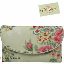 Cath Kidston Curve Wallet Candy Flowers (stone) *100% authentic*  *BNWT*