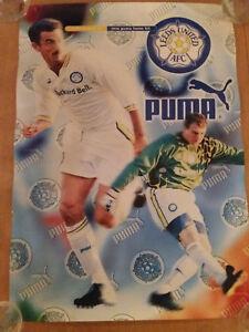 Leeds Utd AFCPumaPackard Bell 039new039 1996 kit poster Nigel Martyn Ian Rush - Bristol, United Kingdom - Leeds Utd AFCPumaPackard Bell 039new039 1996 kit poster Nigel Martyn Ian Rush - Bristol, United Kingdom