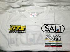 Opel Racing Motorsport V Neck Shirt DTM ATS Sat1 Euroteam OPC Aramis edel  XL