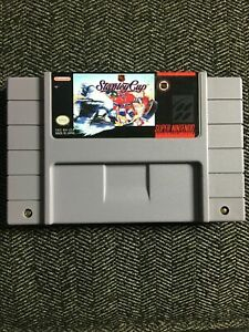 NHL-STANLEY-CUP-SUPER-NINTENDO-SNES-GAME-ONLY-FREE-S-H-G
