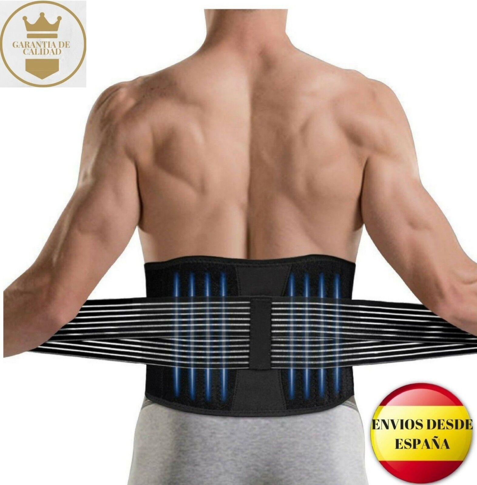 Soporte faja lumbar para el dolor y evitar lesiones DINOKA, hombre/mujer