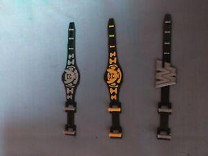 WWF-hasbro-Custom-Belt-x3
