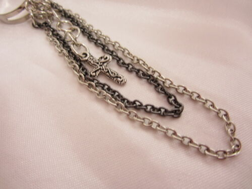 Multi-Chain Cross Ring Size 7 Adjustable