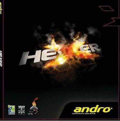Andro Andro Andro Hexer 1,7-2,1 mm Rot   Schwarz Neu 1bafc5