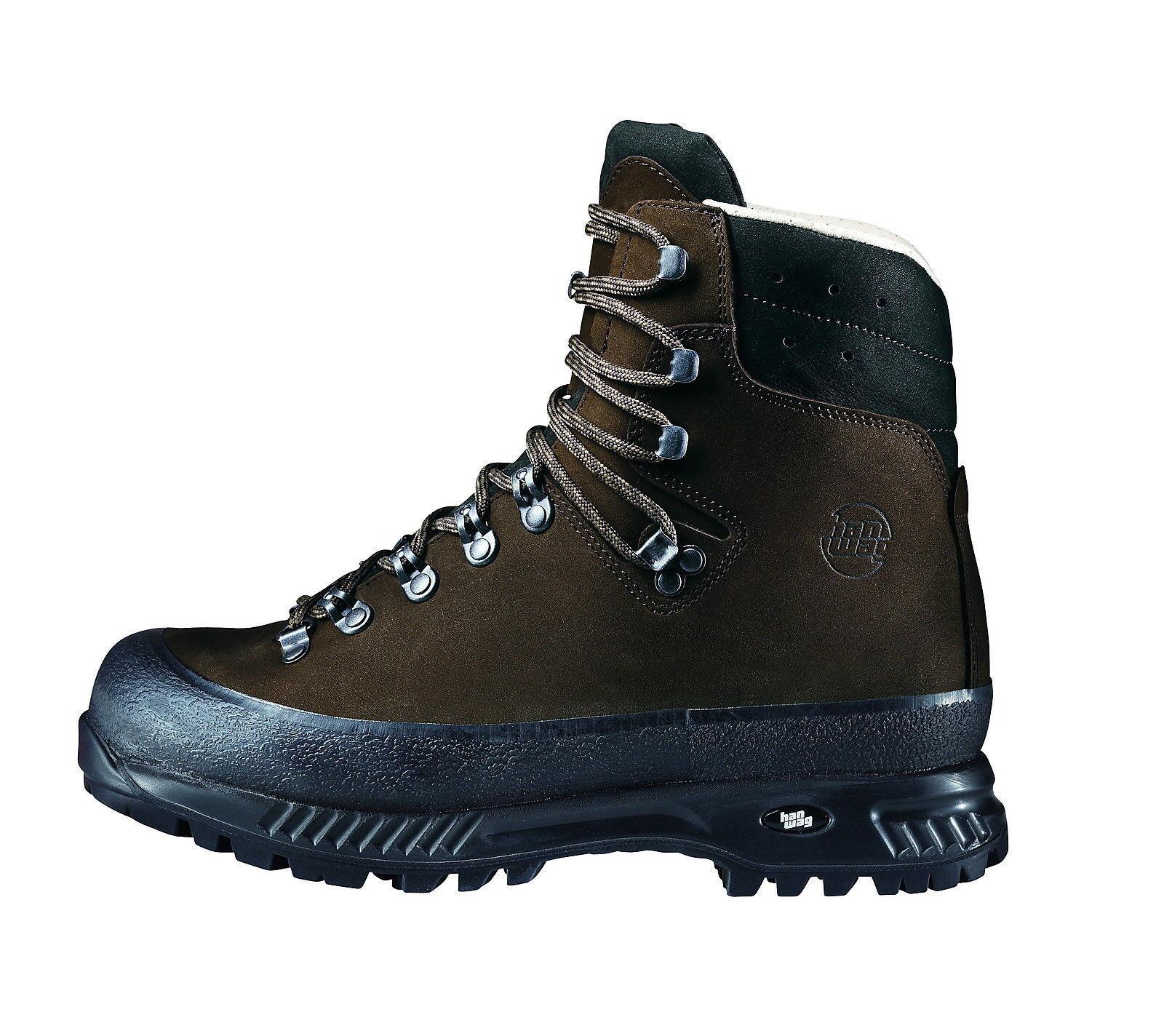 Hanwag Bergschuhe  Yukon Men Leder Größe 9 - 43 erde  | Kunde zuerst