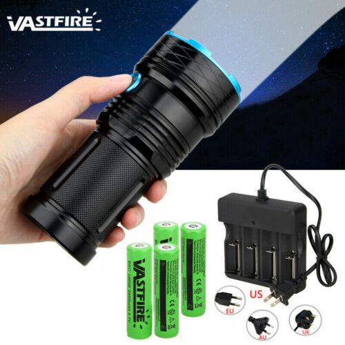 45000LM Ultra Bright Flashlight High Power XM-L T6 LED Camping Lamp Torch 18650