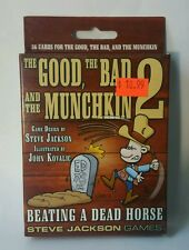 SJG-1486 MUNCHKIN THE GOOD THE BAD AND THE MUNCHKIN 2 - Steve Jackson Games
