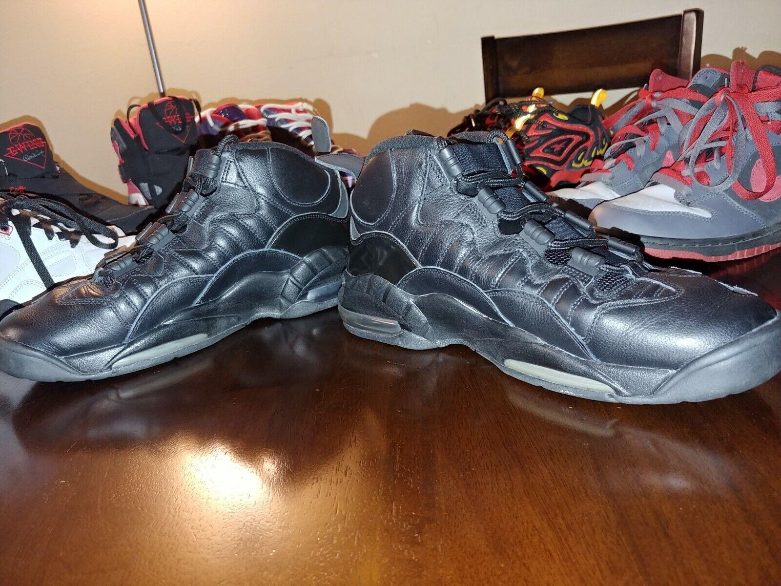 f5f50ad5d5 ... Nike airmax airmax airmax Chris webber size 10.5 black mid top shoes  2007 rare 315863- ...