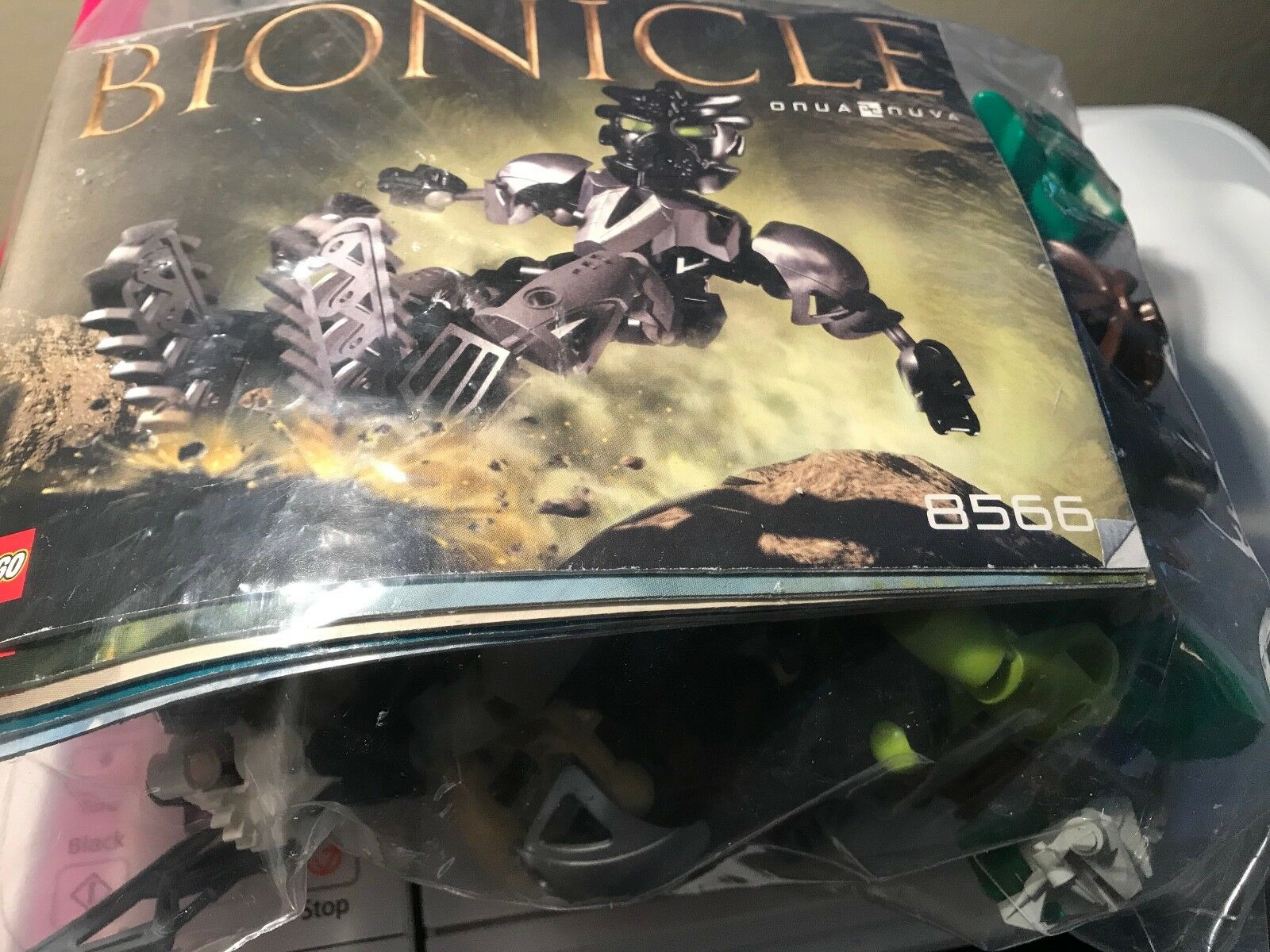 LEGO BIONICLE TOA NUVA  SET of of of 6 - 8566, 8567, 8568, 8570, 8571, 8572 COMPLETE fb5827