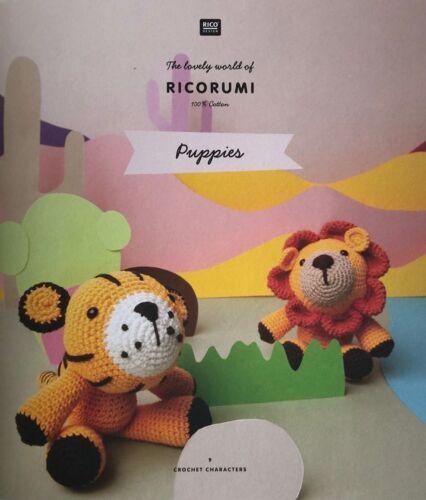 Rico ricorumi DK 100/% Coton Motif livres et yeux