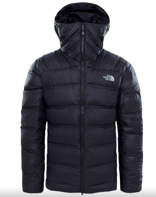 ad16bd8228ba Mens The North Face Summit L6 Down Belay Parka Jacket Large Black ...