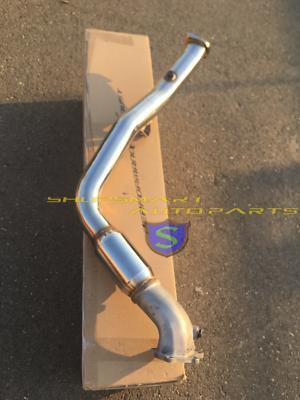 """SUBARU WRX//STI 4/"""" SR*S BELLMOUTH DOWN PIPE DOWNPIPE 02"""