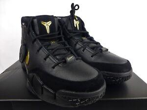 promo code db5ba 50afb Image is loading Nike-Kobe-1-Protro-Mamba-Day-Lakers-Black-