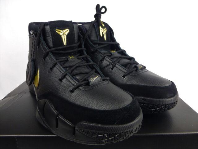 5daab5f64364 Nike Kobe 1 Protro Mamba Day Lakers Black Metallic Gold (AQ2728-002) Size