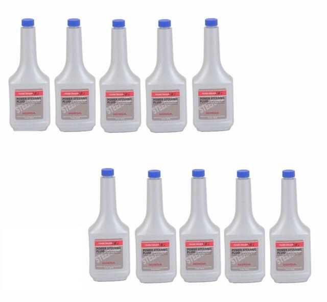 For Honda Acura Set Of 10 Bottles 12 Oz Power Steering