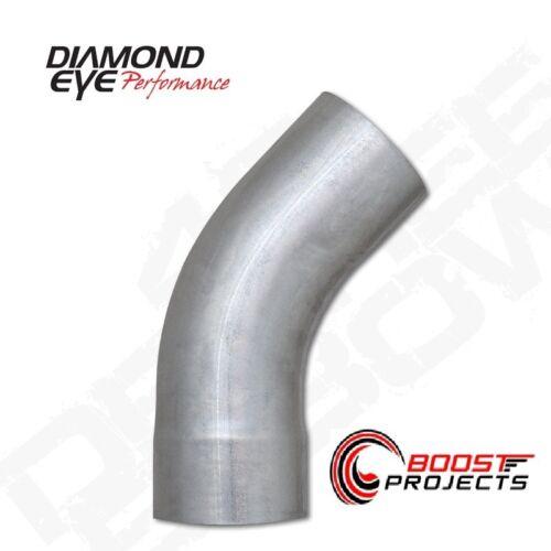 "Diamond Eye 5/"" Aluminized Universal 45 Degree Exhaust Elbow 524525"