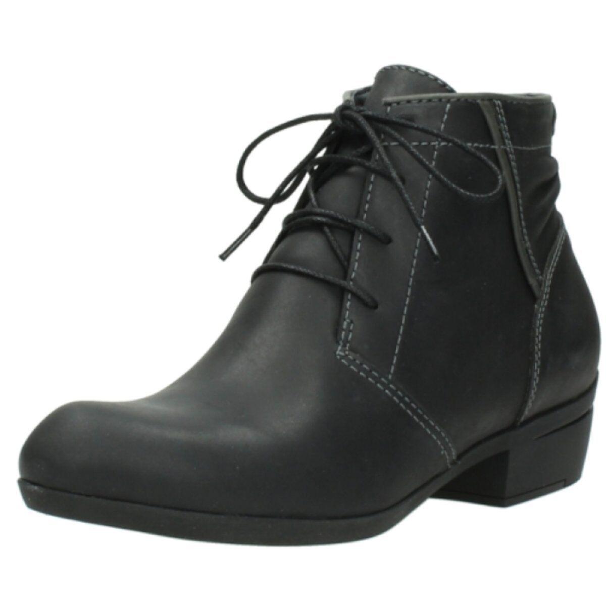 NEU Wolky Damen Stiefeletten El Dorado Algarve leather Blac 0095150002 grau