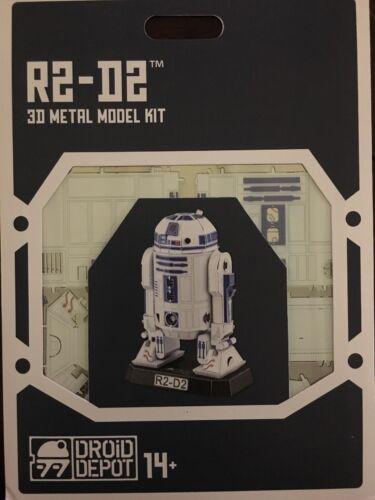 STAR WARS-GALAXY'S EDGE METAL EARTH DROID DEPOT R2-D2 3D METAL MODEL KIT