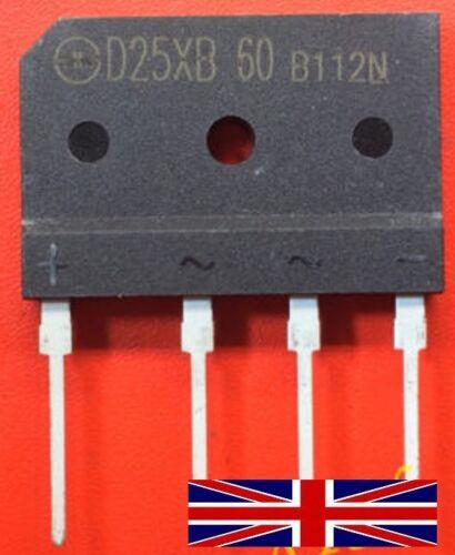 D25XB60 SIP-4 Bridge Rectifier from UK Seller