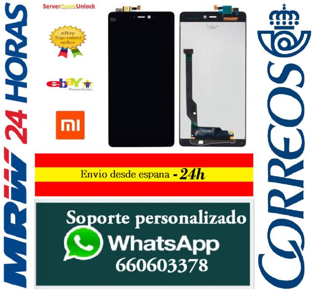 f35fa3af584 Pantalla Original Completa para Xiaomi Mi4C Mi 4C Negra Tactil + LCD Negro