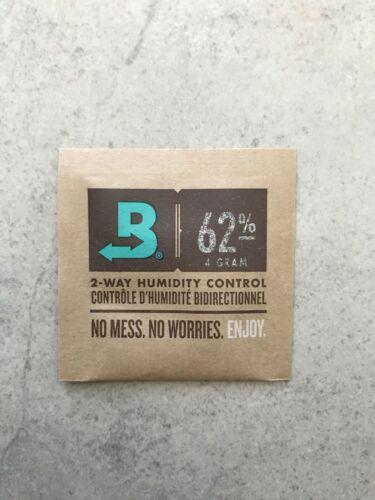 Boveda 62/% RH 2-Way Humidity Control Pack x 10 Pack 4 gram