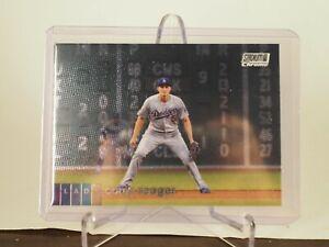 2020 Stadium Club Chrome Corey Seager Los Angeles Dodgers Card 263
