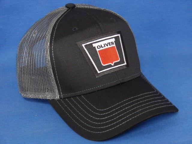 Oliver Tractor Hat - - Black Gray Mesh - Hat Keystone Logo 5d25f4