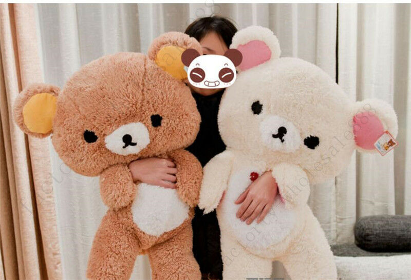 KORILAKKUMA 15  22   30  43  PLUSH STUFFED bambola PILLOW SAN-X CUTE orso RILAKKUMA  prezzi eccellenti