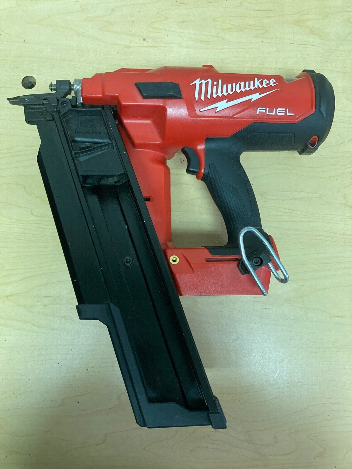 Milwaukee 2744-20 M18 FUEL 21 Degree Cordless Framing Nailer (Tool Only). Available Now for 299.99