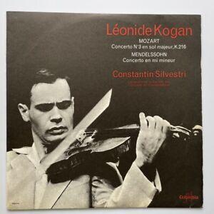 Leonid Kogan Constantin Silvestri Mozart Mendelssohn Violin Columbia SAXF 138