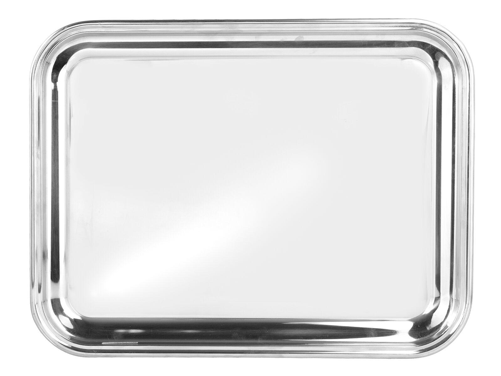 PINTI Vassoio Rettangolare Bar Inox 45X35 Arrougeo Tavola