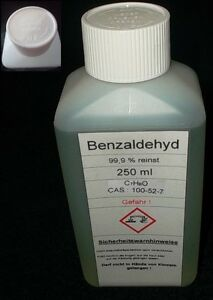 250-ml-Benzaldehyd-Benzaldehyde-99-9-Bitter-Mandel-Aroma