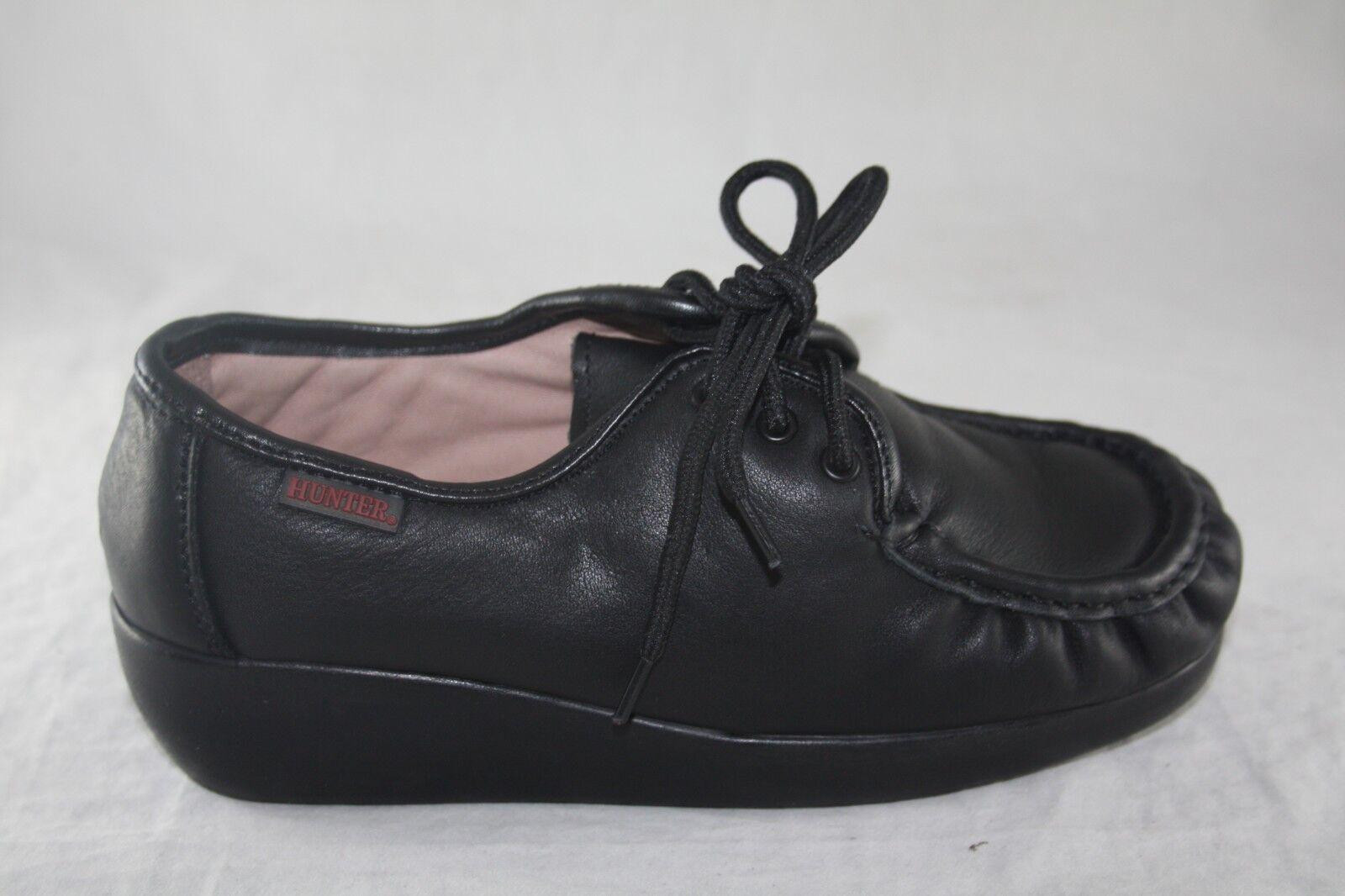 femmes GRAND HUNTER 3005 noir GENUINE LEATHER WORK chaussures SLIP RESISTANT