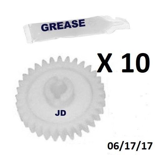 Sears Craftsman Garage Door Opener 10 Drive Gears /& Grease 41A2817 41C4220A