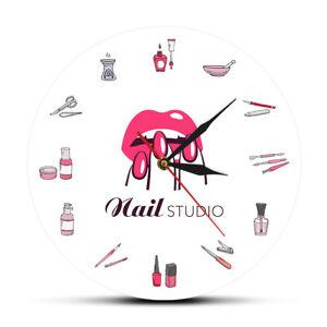 Nail Polish Bottles Accessories Beauty Salon Nail Studio Tools Cosmetology Watch