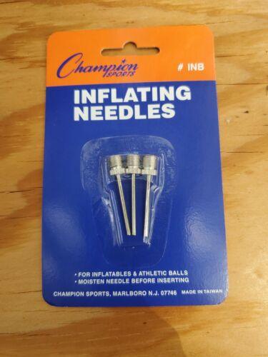 Champion Sports nickelé gonflant Needles for Electric livraison gratuite