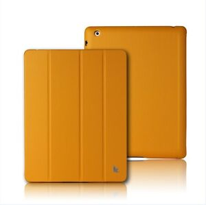 New-Jisoncase-Orange-High-Quality-Micro-Fiber-Case-Cover-For-Apple-iPad-2-amp-3rd