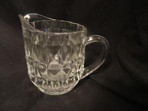 Vintage-Crystal-Windsor-Depression-Glass-Creamer-Jeanette