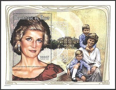 Niger 1997 Diana, Princess of Wales/Royalty/People m/s ref:b1660