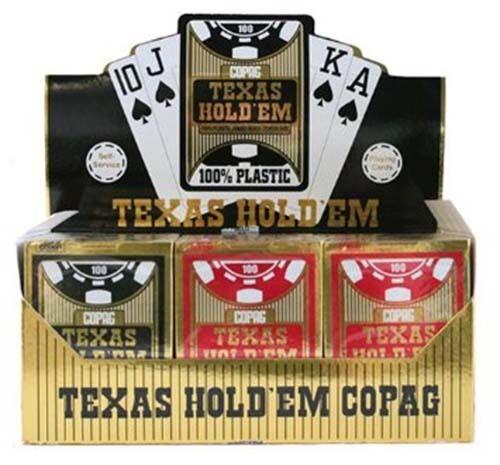 X48 voiturete COPAG Texas Hold'em or Edition - Jumbo  Index - Poker Casinò Quality  grosses économies