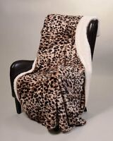 Regal Comfort Sherpa Luxury Throw Cheetah Print (50 X 70), New, Free Shipping on sale