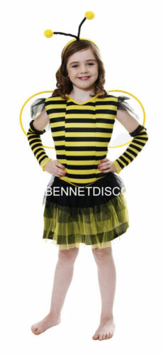 CHILD BUMBLE BEE COSTUME FANCY DRESS HALLOWEEN PARTY FREE UK P+P REDUCED GIRLS